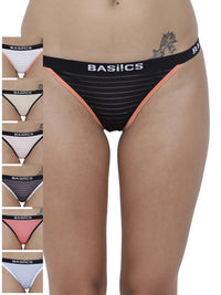 Caliente Hot Thong Panty (Combo Pack of 7)