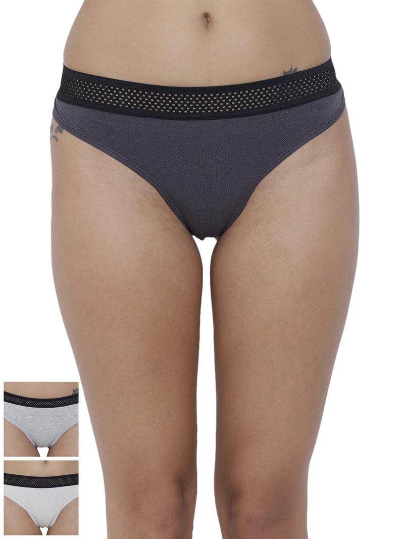 Bonita Pretty Thong Panty (Combo Pack of 3)
