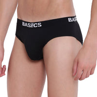 BASIICS, BASIICS by La Intimo, Male, Men, Sauve Adonis Brief Basiics by La Intimo, Brief, BCSBR13BK0