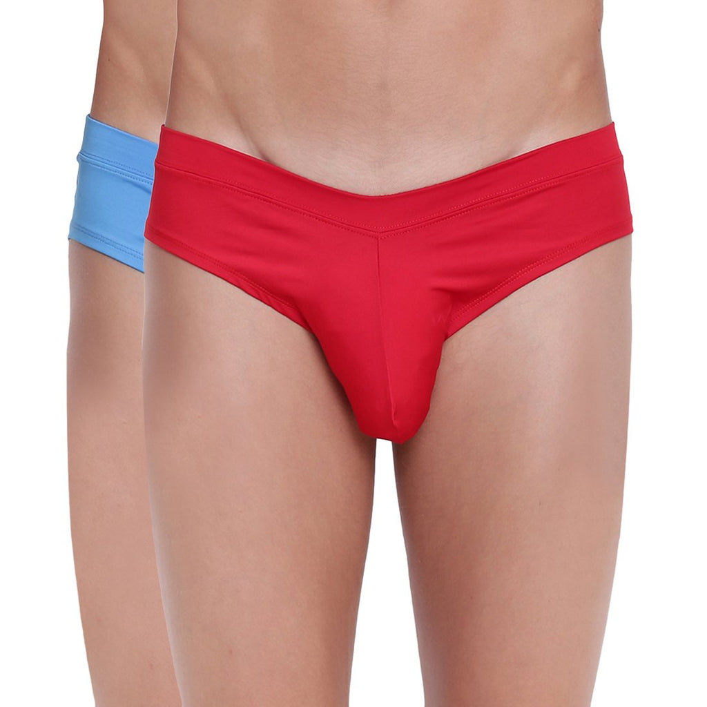 Fanboy Style Brief Basiics by La Intimo (Pack of 2)