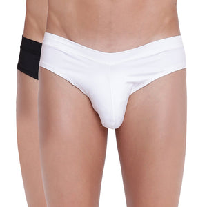 Fanboy Style Briefs Basiics by La Intimo (Pack of 2)