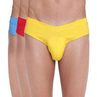Fanboy Style Briefs Basiics by La Intimo (Pack of 3)