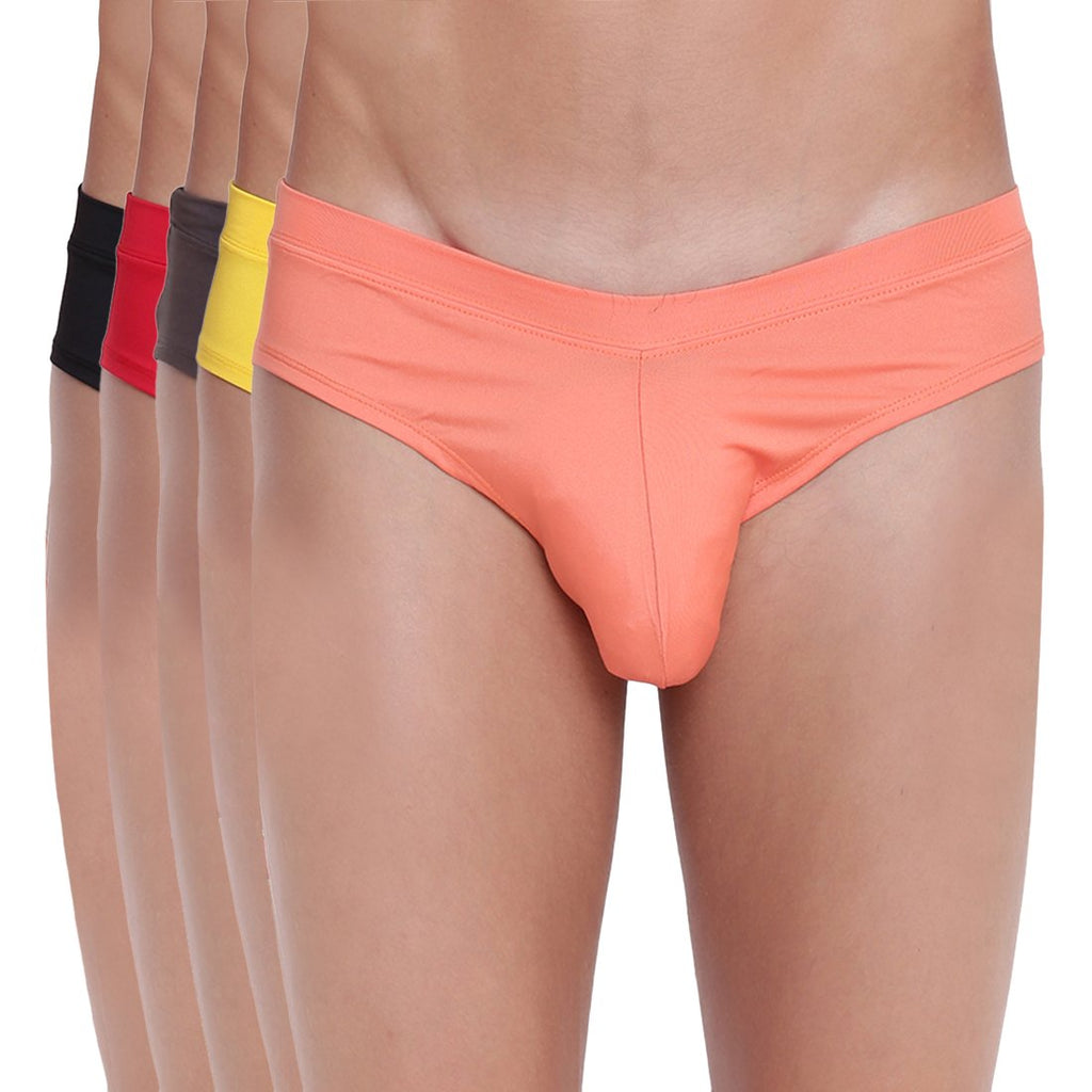 Fanboy Style Brief Basiics by La Intimo (Pack of 5)