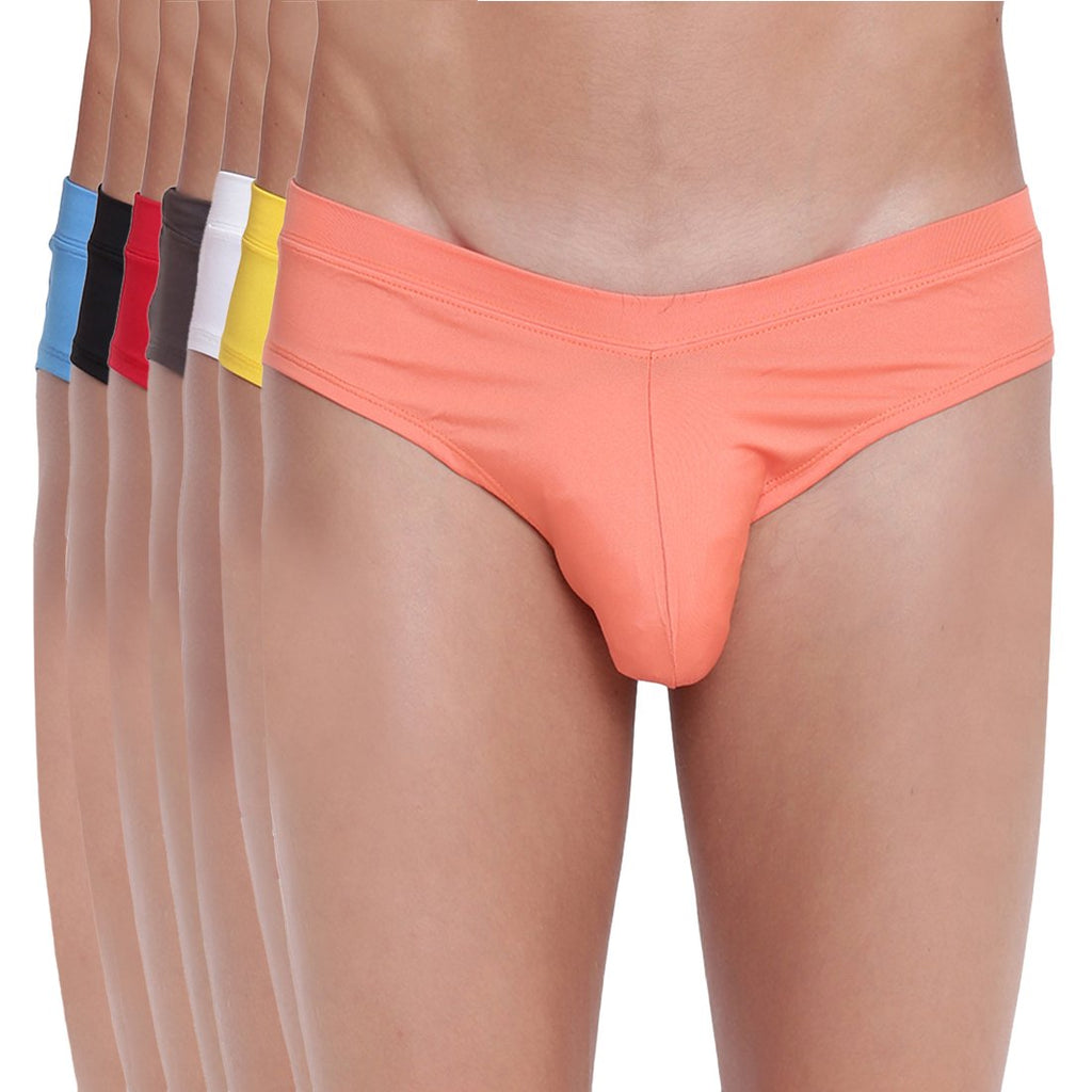 Fanboy Style Brief Basiics by La Intimo (Pack of 7)