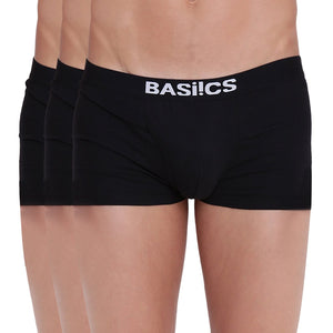 Hot Hunk Trunks Basiics by La Intimo (Pack of 3)