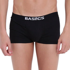Basiics, BASIICS by La Intimo, Male, Men, Hot Hunk Trunk Basiics by La Intimo (Pack of 3), Trunk, BCSTR04C2580