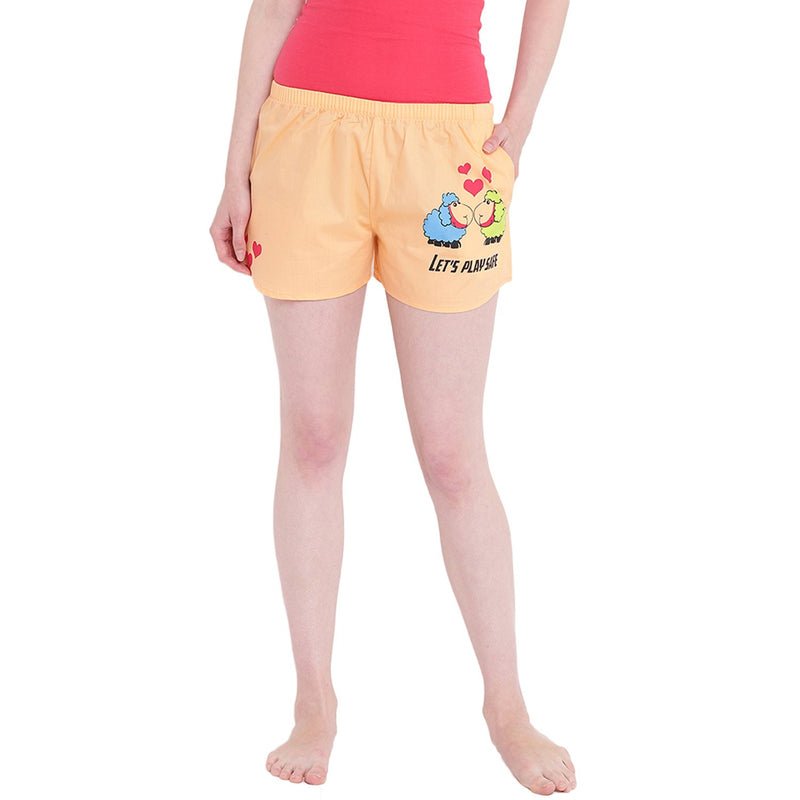 Sheep Play Safe Boxer Shorts