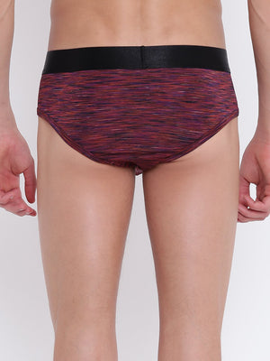 La Intimo, Male, Button Glutton LaIntimo Brief, Men, LIBR005RD0_3XL, LIBR005RD0