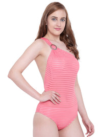 La Intimo Coral Female SummerSass Monokini Resort/Beach Wear Polyester Spandex Swimwear