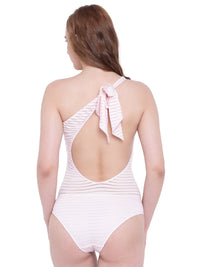 La Intimo Rose Quartz Female SummerSass Monokini Resort/Beach Wear Polyester Spandex Swimwear