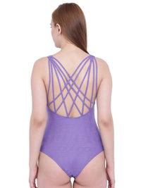 La Intimo Ultraviolet Female Coast Monokini Resort/Beach Wear Polyester Spandex Swimwear