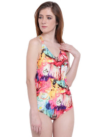 Oceanfront Monokini One Piece Swimsuit