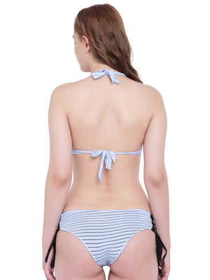 La Intimo Blue Serenity Female Seashow Bikini Resort/Beach Wear Polyester Spandex Swimwear