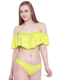 Two Piece Ruffle Buffle Bikini | Swimwear | Beach Wear