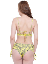 La Intimo SP-Naughty Signs Female Lakeside Bikini Resort/Beach Wear Polyester Spandex Swimwear