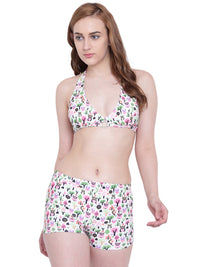 Punk Life Tankini Swimwear Two Piece