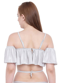 La Intimo ,Female,La Intimo Ruffle Buffle Cold Shoulder Bra,Female,LIFBR007LR0_34E