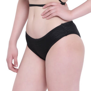 La Intimo, Female, La Intimo Ruffle Buffle Panty Resort Beach Wear, Panty, LIFPY007BK0_S