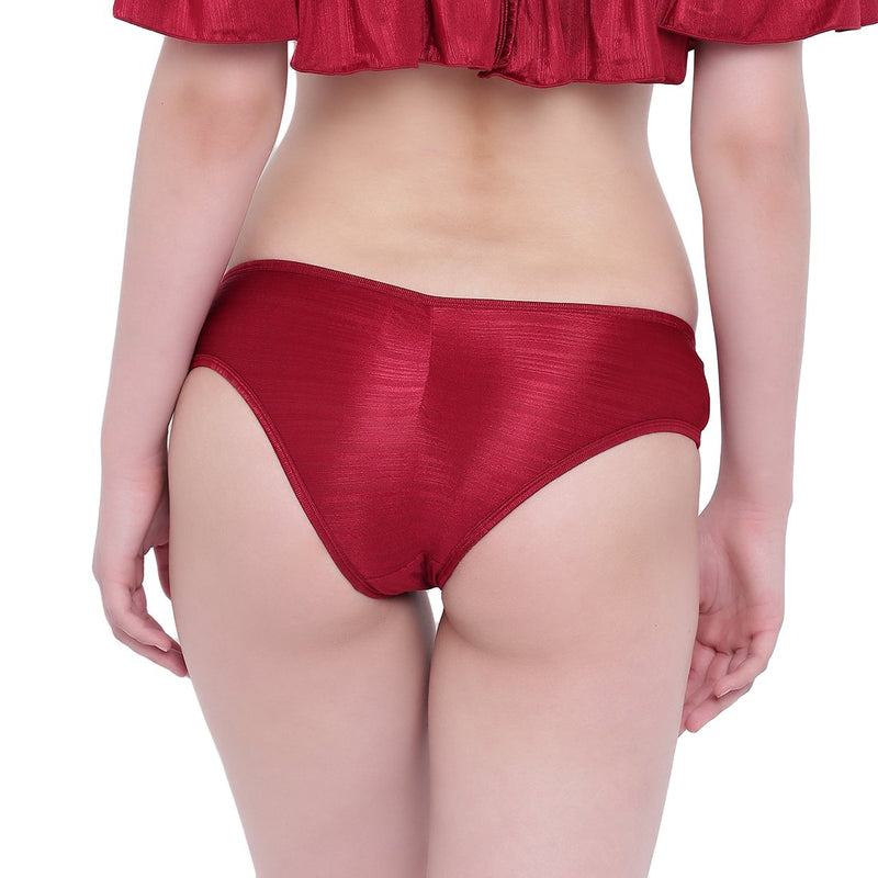 La Intimo, Female, La Intimo Ruffle Buffle Panty Resort Beach Wear, Panty, LIFPY007MN0_XL