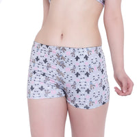 La Intimo Punk Life Boyshorts Resort Beach Wear
