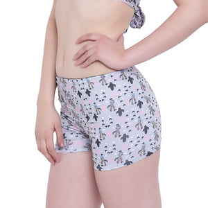 La Intimo, Female, La Intimo Punk Life Shorts Resort Beach Wear, Panty, LIFPY011ZH0_XL