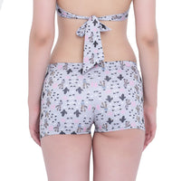 La Intimo, Female, La Intimo Punk Life Shorts Resort Beach Wear, Panty, LIFPY011ZH0_M