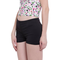 La Intimo, Female, La Intimo Fash Melange Shorts Resort Beach Wear, Panty, LIFPY012ZE0_M