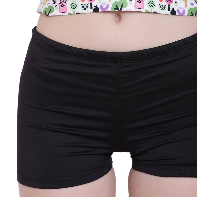 La Intimo, Female, La Intimo Fash Melange Shorts Resort Beach Wear, Panty, LIFPY012ZE0_XL