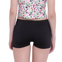 La Intimo, Female, La Intimo Fash Melange Shorts Resort Beach Wear, Panty, LIFPY012ZE0_S