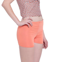 La Intimo, Female, La Intimo Fash Melange Shorts Resort Beach Wear, Panty, LIFPY012ZF0_M