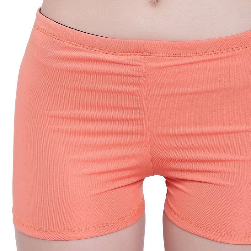 La Intimo, Female, La Intimo Fash Melange Shorts Resort Beach Wear, Panty, LIFPY012ZF0_L