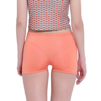 La Intimo, Female, La Intimo Fash Melange Shorts Resort Beach Wear, Panty, LIFPY012ZF0_XL