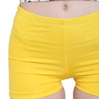 La Intimo, Female, La Intimo Fash Melange Shorts Resort Beach Wear, Panty, LIFPY012ZG0_M