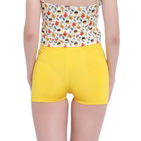 La Intimo, Female, La Intimo Fash Melange Shorts Resort Beach Wear, Panty, LIFPY012ZG0_L