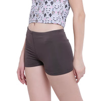 La Intimo, Female, La Intimo Fash Melange Shorts Resort Beach Wear, Panty, LIFPY012ZH0_L