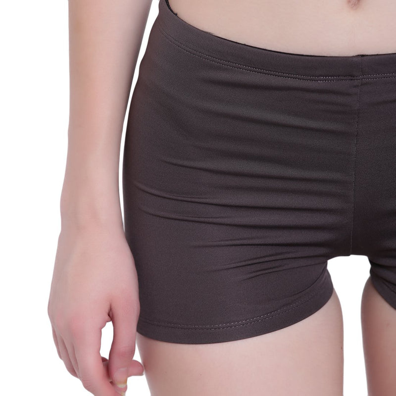 La Intimo, Female, La Intimo Fash Melange Shorts Resort Beach Wear, Panty, LIFPY012ZH0_S