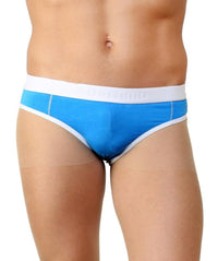 La Intimo Blue Men Holiday Cotton Spandex Jockstrap