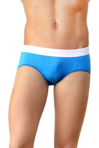 La Intimo Blue Men Real Feel Infinity Cotton Modal Spandex Jockstrap