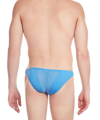 La Intimo Blue Men Net Regular Polyester Spandex Briefs