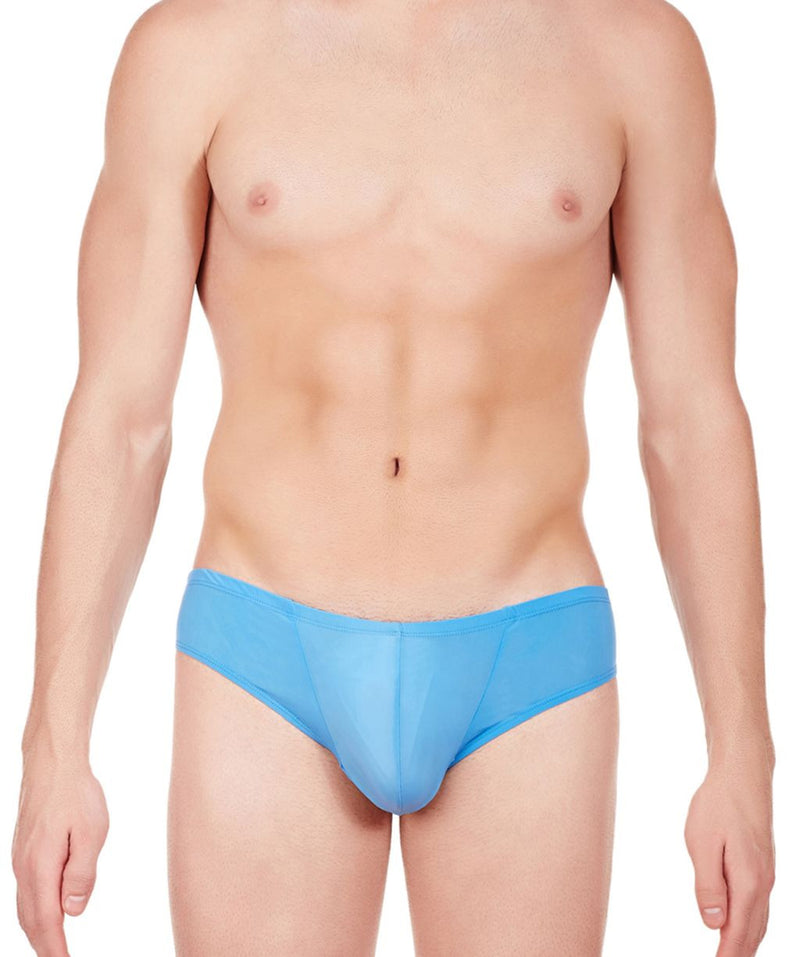 La Intimo Blue Men BL Minicheek Nylon Spandex Briefs