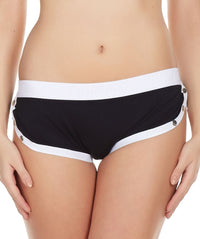 La Intimo Black Women Greek Cotton Spandex Hipster
