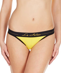 La Intimo Blue Women NiceFit V2 Thong Cotton Modal Spandex Thong