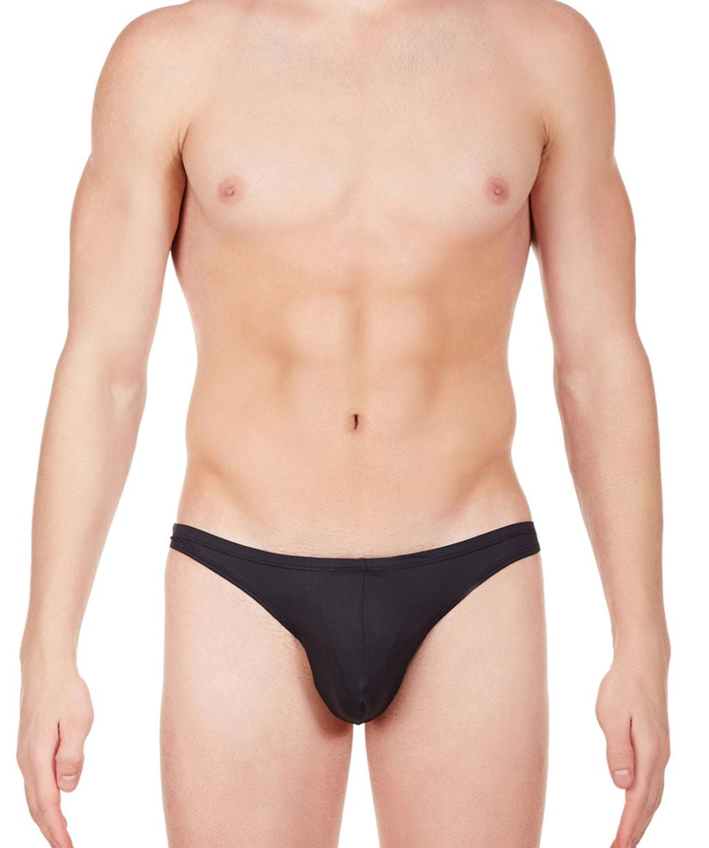 La Intimo Black Men Know It All Nylon Spandex Briefs