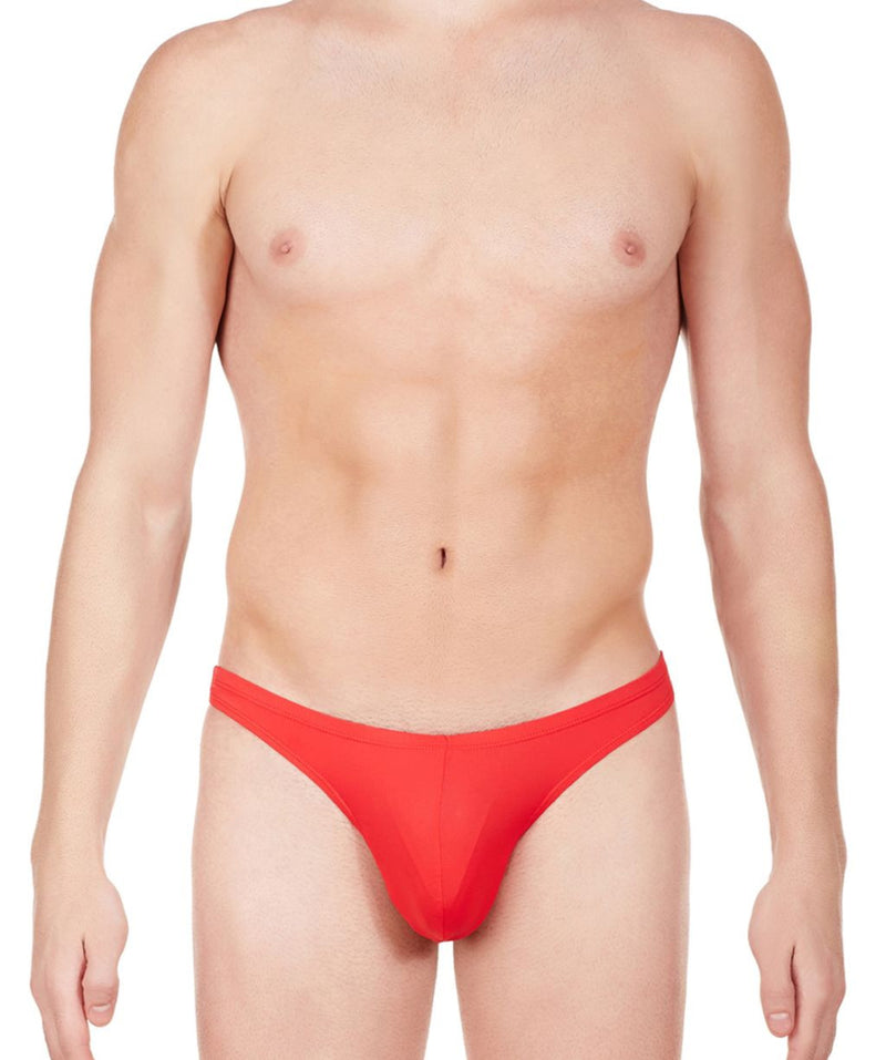 La Intimo Red Men Know It All Nylon Spandex Briefs
