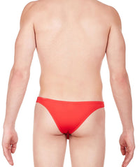 La Intimo Red Men Regular Nylon Spandex Briefs