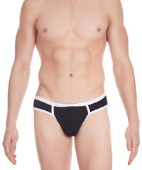 La Intimo Black Men Archaic Brief Cotton Modal Spandex Briefs