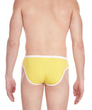 La Intimo Yellow Men Regular Cotton Modal Spandex Briefs