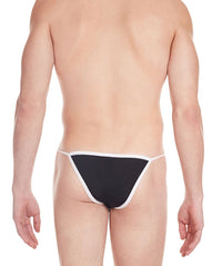 La Intimo Black Men Regular Nylon Spandex Briefs
