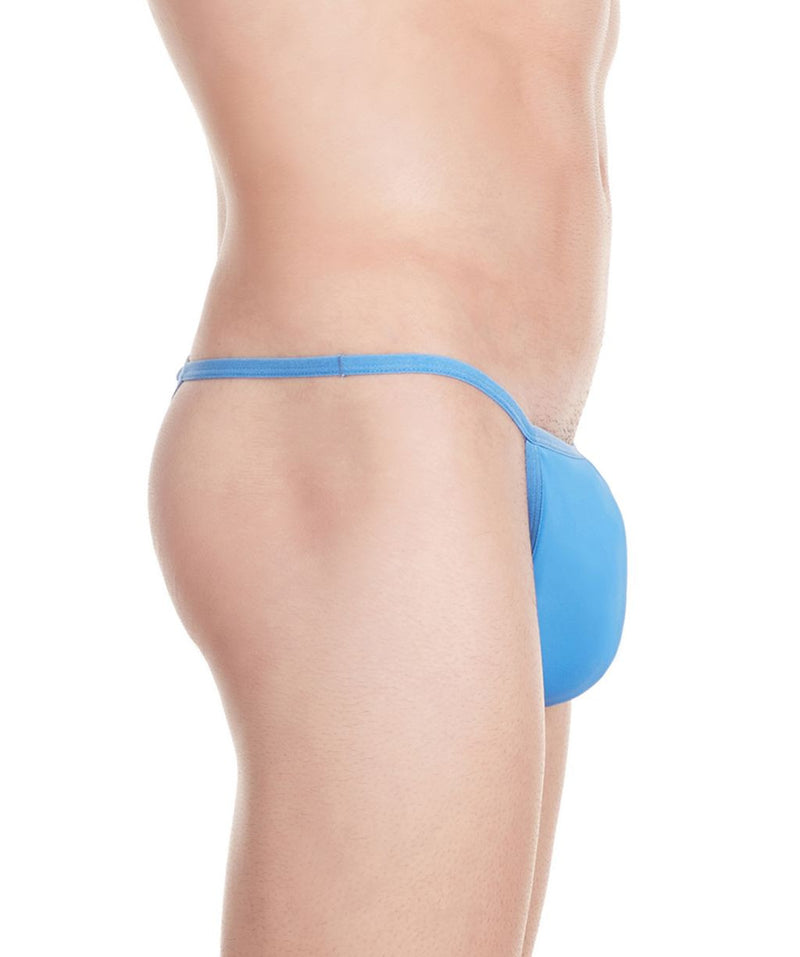La Intimo Blue Men Minimizer Thong Nylon Spandex Thong