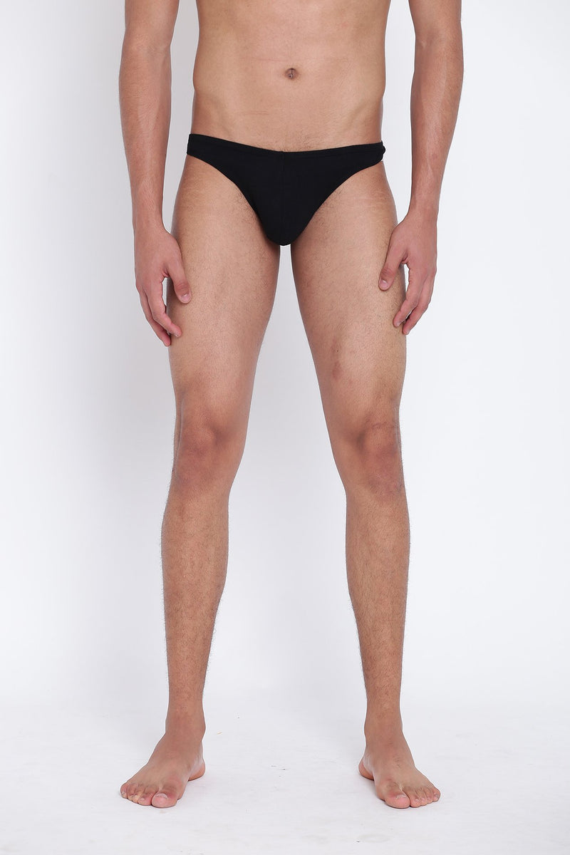 La Intimo, Male, Thigh High LaIntimo Thong, Men, LITH031BK0_L, LITH031BK0